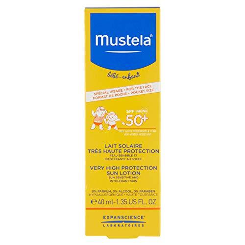 Lait Solaire Très Haute Protection 50+ 40ml Mustela