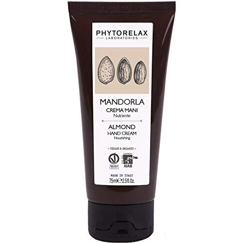 Phytorelax Laboratories Mandorla Vegan & Organic - Crema Mani Nutriente - 75 g