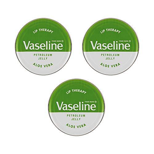 Vaseline Vaselina Balsamo per labbra Terapia 20g - Confezione da 3 (3x Aloe Vera)