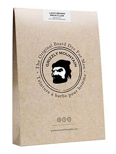 Colorante barba organico e naturale Grizzly Mountain (marrone chiaro)
