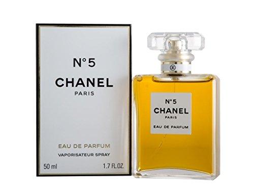 Chanel, N. 5, Eau de Parfum con vaporizzatore, 50 ml