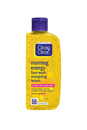 Clean & Clear Morning Energy Face Wash Energizzante Limone 50Ml