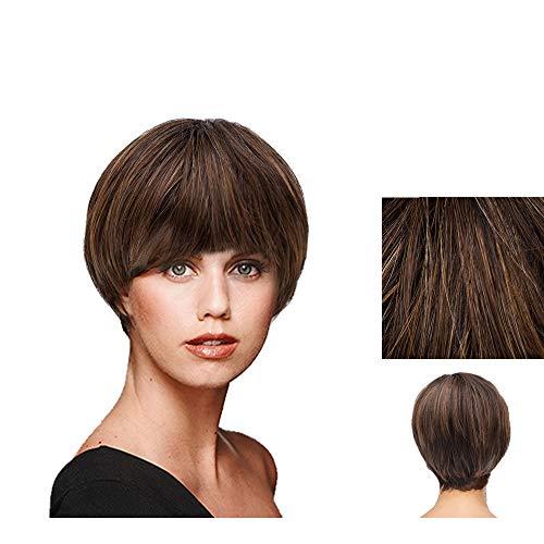 Hairdo Short & Sleek Parrucca Castano Medio Nocciola