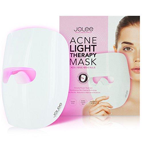 JoLee Maschera leggera contro l'acne, dermatologicamente testata, riduce l'acne, le macchie e le rughe, i risultati visibili in 30 giorni, il ringiovanimento della pelle. Maschera antiacne