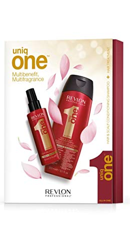 Revlon Pack Duo Uniq One, Spray 150 ml e Shampoo 300 ml