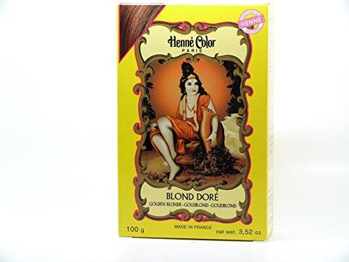 Henné Color: biondo dorato (biondo dorato) Henné Color (100 g)