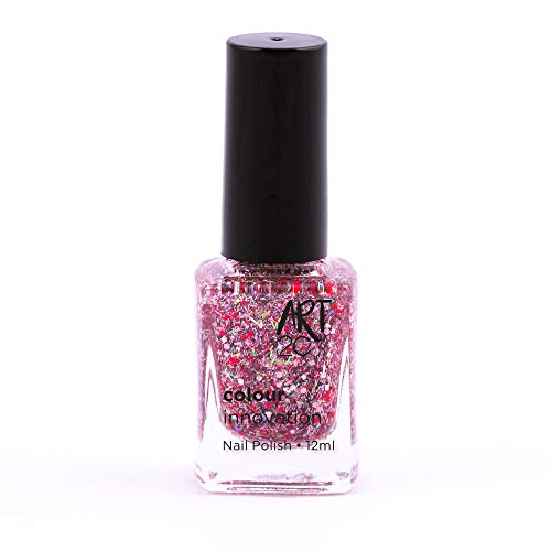 Art 2C Glitter-nation Colour Innovation Classic Nail Polish - Smalto per unghie classico, 96 colori, 12 ml, colore: 718