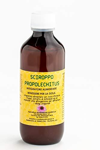 Apicoltura Manfredini - 'Sciroppo' 'Propolechitus' Al Miele, Propoli, Echinacea Ed Oli Essenziali Di Pino, Timo Ed Eucalipto