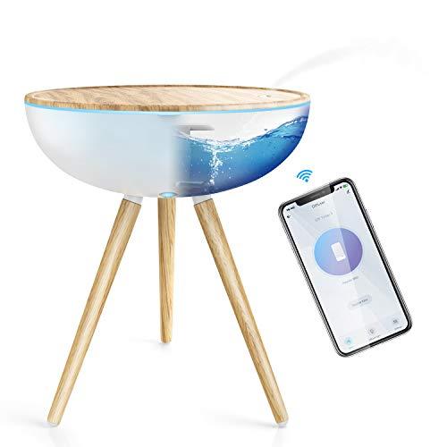 Maxcio Diffusore di Olio Essenziali WiFi, 1000ML Diffusore di Aromi, 3 Modalità di Nebbia, Controllo App, Diffusore Intelligente Compatibile con Alexa e Google Home per Yoga, Ufficio, Camera da Letto