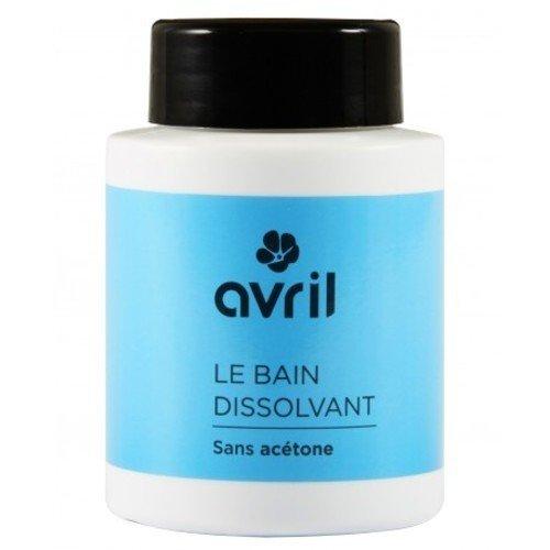 AVRIL - Bagno Solvente per Unghie - Senza Acetone - Delicatamente Profumato - Dissolve lo Smalto Facilmente - Non Testato sugli Animali - 75 ml