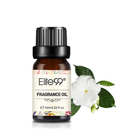 Elite99 Olio Fragranza di Gardenia Olio di Profumo 100% Puro Naturale Aromaterapia 10Ml - Gardenia