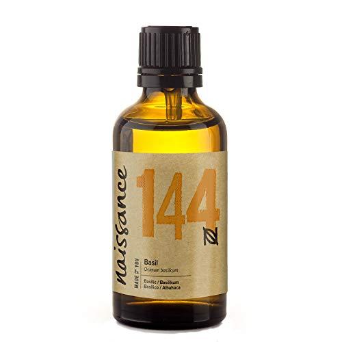 Naissance Olio di Basilico - Olio Essenziale Puro al 100% - 50ml