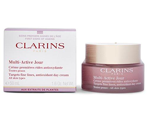 Clarins Multi Active Crema Giorno, Tutti i Tipi di Pelle - 50 ml