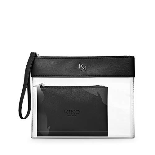 KIKO Milano Transparent Beauty Case 001 | Beauty Case Trasparente con Pochette Interna