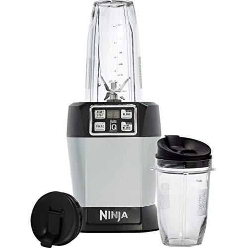 Ninja Nutri BL480EU Frullatore con Auto-iQ, 1000 Watts, Argento