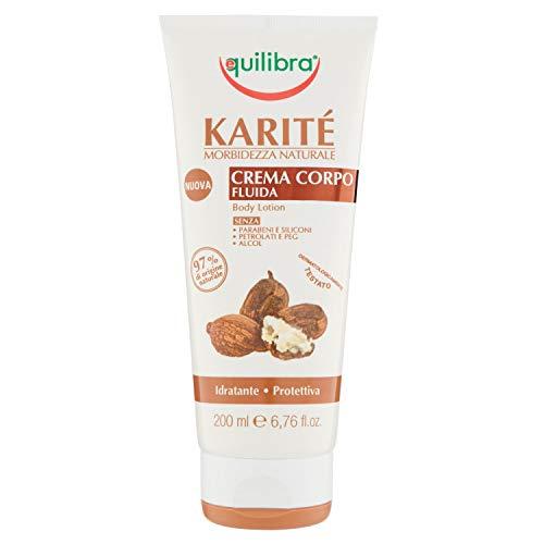 Equilibra Karité Crema Fluida Corpo, 200 ml