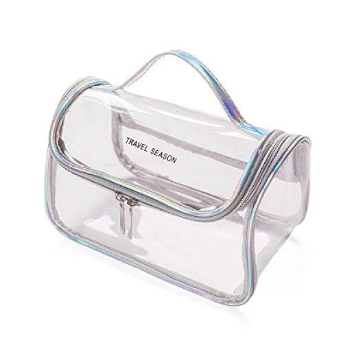 Borsa per Cosmetici Borsa per Cosmetici Trasparente Organizzatore di Viaggi Trasparente Borsa per Trucco Estetista Borsa per Cosmetici Beauty Case Borsa da Toil