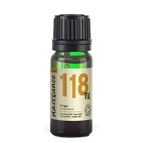 Naissance Olio di Zenzero Biologico - Olio Essenziale Puro al 100% - 10ml