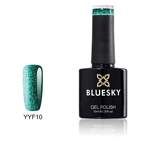 Bluesky Shellac s Nail Amazon scintillio del gel UV polacco YYF - 10ml