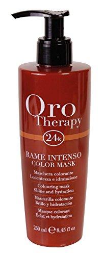Intense Copper Colouring Mask Oro Therapy ® 24k Shine and Hydration 250ml Maschera Colorante Lucentezza e Idratazione