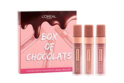 L'Oreal Paris - Confezione regalo per labbra liquide ultra opache