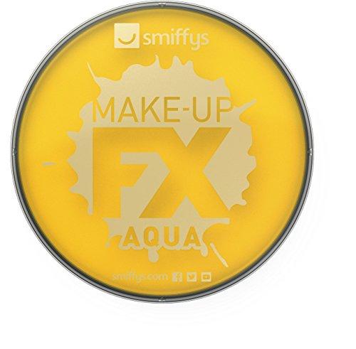 Smiffys Make-Up della Smiffy FX, acqua Viso e Body Paint, giallo, a base d'acqua, 16ml