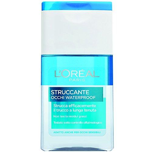 L'Oréal Paris Struccante per Occhi Waterproof Strucca Efficacemente il Trucco a Lunga Tenuta, 125 ml