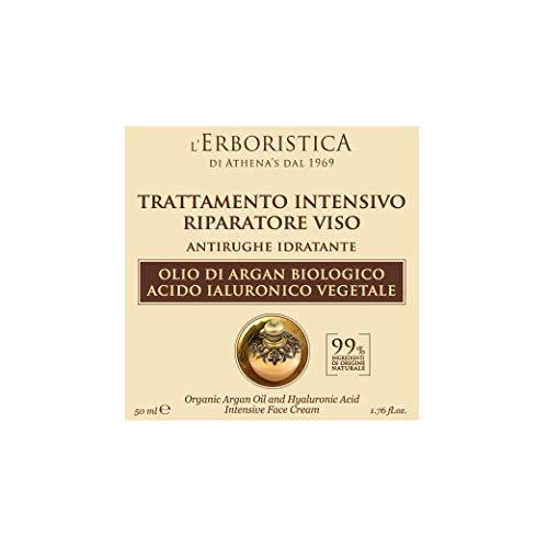 Trattamento intensivo viso all'Olio di Argan e Acido Ialuronico vegetale 50 ml