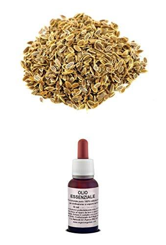 Olio Essenziale 100% Puro ANETO Naturale Uso Interno/Esterno (20 ml)