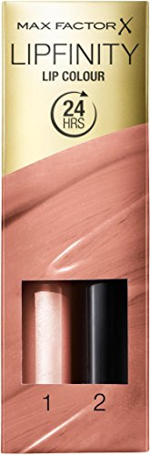 Max Factor - Rossetto bifase Lipfinity, n° 06 Always Delicate, 1 pz. (1 x 2 ml)