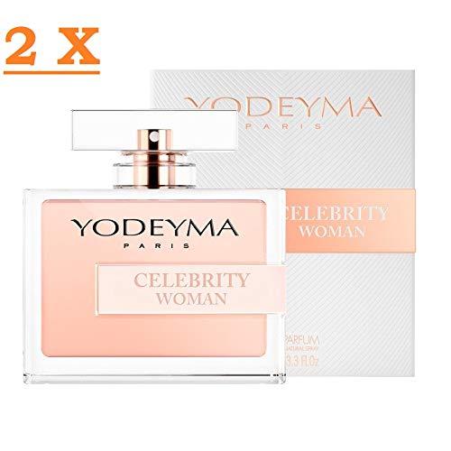 Profumo Donna Yodeyma Celebrity Woman Eau de Parfum 100 ml 2 confezioni