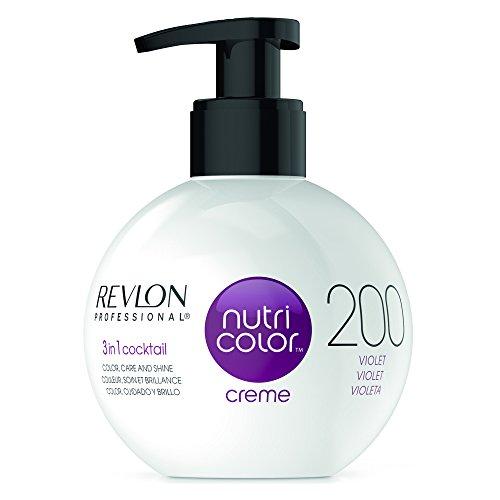 REVLON Professional, crema di ritocco, Nutri Color, 270ml, Viola