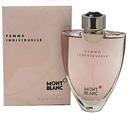 Montblanc Femme Individuelle, Eau de Toilette spray da donna, 75 ml