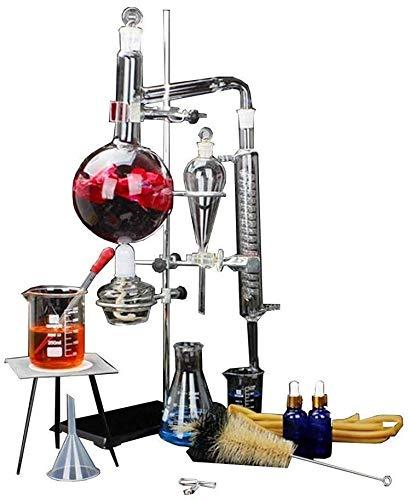 Distillazione di Oli Essenziali di Laboratorio, Attrezzature di Laboratorio Scienziato Essenziale l'estrazione di Petrolio, Attrezzature di Laboratorio, Materiale didattico a casa