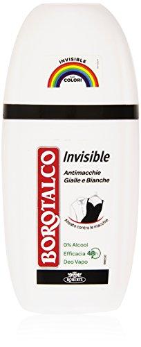 Borotalco - Invisibile, Antimacchie Gialle e Bianche - 75 ml