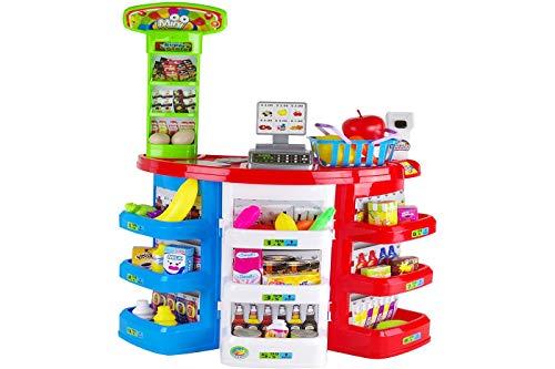 CLICLED Supermercato Gioco Bambini Mini Market Bambine con registratore di Cassa 38845