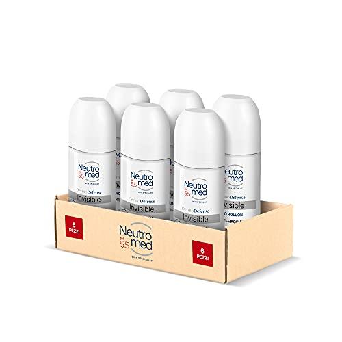 Neutromed, Deodorante Roll Invisible, 300 ml