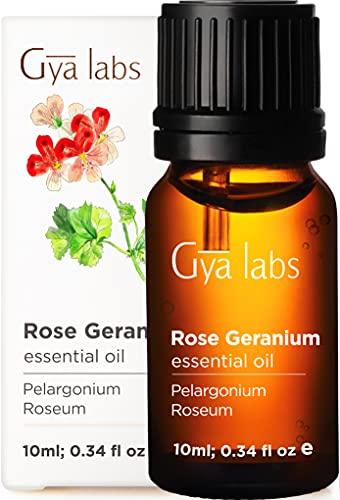 Olio essenziale di geranio rosa - Rilassa e rinnova il bellissimo equilibrio della pelle (10 ml) - Olio di geranio rosa di grado terapeutico puro al 100%