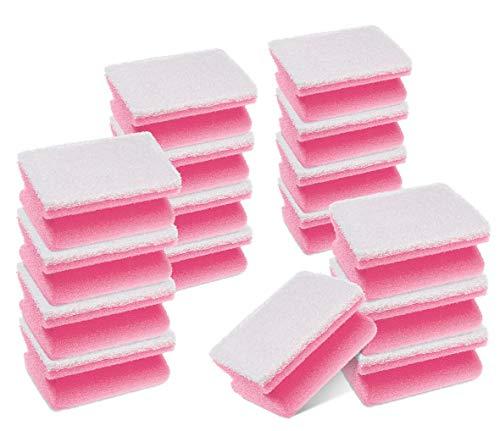 Scotch-Brite Spugna abrasiva per bagno Salvadita, 16 pezzi per confezione - spugna abrasiva antigraffio per la pulizia delle superfici del bagno, come vetro, cromature e ceramica