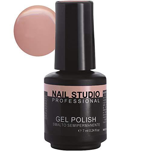 Nail Studio - Smalto per Unghie Professionale Gel Polish Semipermanente Mani e Piedi - Durata 4 Settimane - 39 Colori - Colore Vintage Rose 10