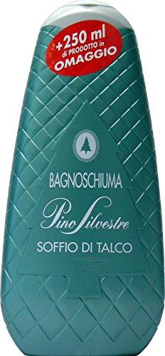 12 x PINO SILVESTRE Bagno Soffio Di Talco 500+250 Ml