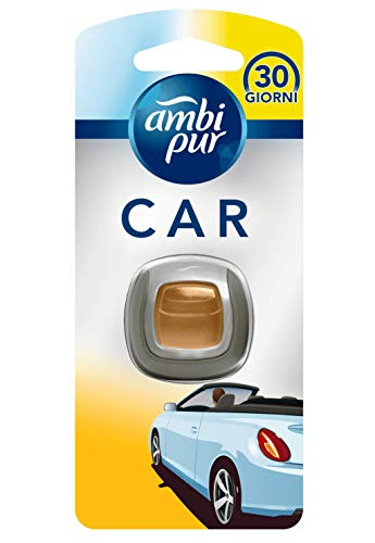 Ambi Pur Car Anti-Tabacco Deodorante per Auto con Clip, 1 Pezzo
