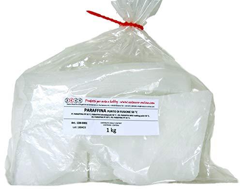 Paraffina punto di fusione 50 °C - ZEUS - 1 kg