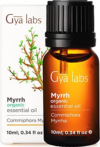 Olio essenziale di mirra biologico - Una beatitudine divina di serenità e bellezza ringiovanente (10 ml) - Olio di mirra biologico di grado terapeutico puro al 100%