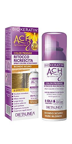 Dietalinea - Ritocco Ricrescita Spray Biondo Scuro Color Prodige 8 Effetti