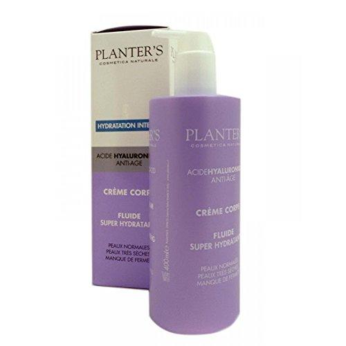 Planter's - Crema Corpo Anti-Age Fluida Superidratante all'Acido Ialuronico. 400 ml