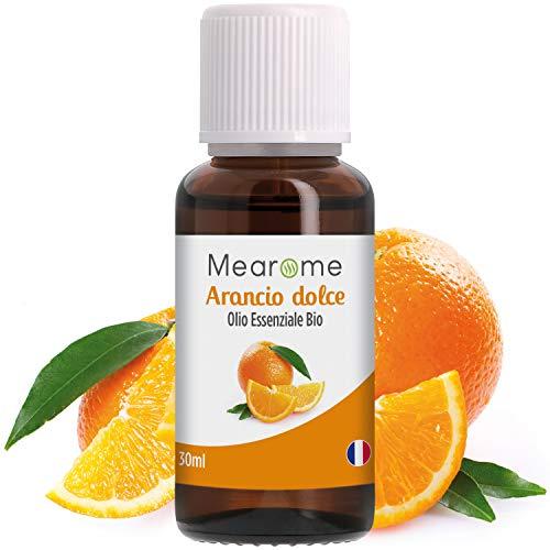 Olio essenziale Arancio Dolce | 100% Puro, Naturale e Vegano | Digestione | Stress | Insonnia | Aromaterapia, Massaggi, Diffusori | Certificato OEBBD, OECT e Agricoltura Biologica | 30 ML