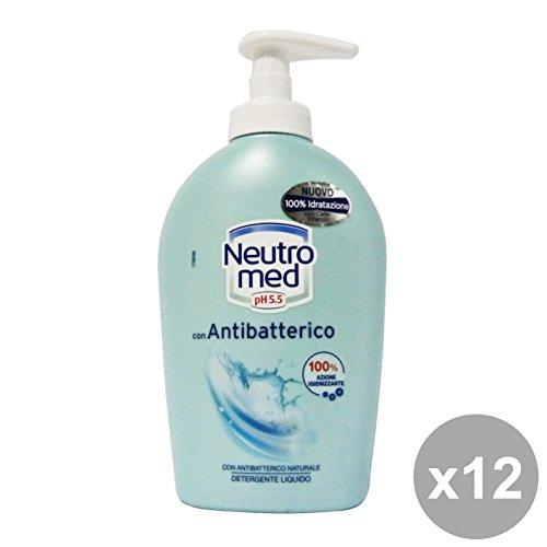 Set 12 NEUTROMED Sapone Liquido Antibatterico 250 Ml. Saponi e cosmetici