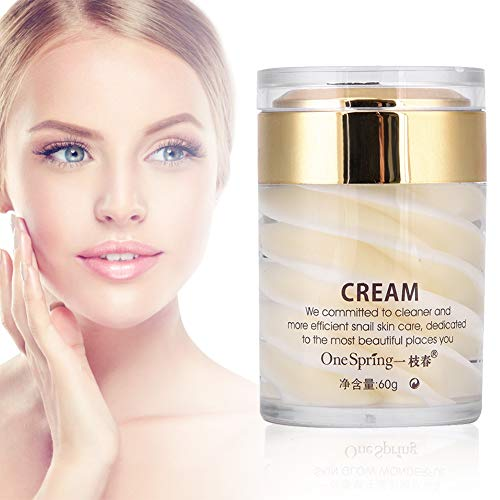 Crema Viso Antiage Idratante, Crema Viso Antirughe Rassodante, Snail Moisturizing Rejuvenating Face Cream, Crema Rassodante Viso Efficace Uso Quotidiano, Riduce Rugh e Anti-invecchiamento