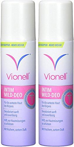 vionell INTIM Mild Deo, confezione da (2X 150ML)